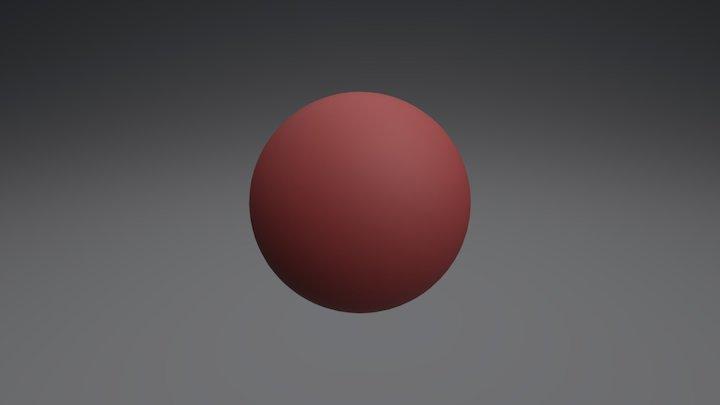 Some Random Shiny Ball 3D Model