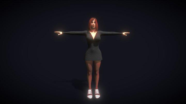 Girl - NDRKMR 3D Model