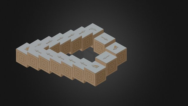 Infinite way 3D Model