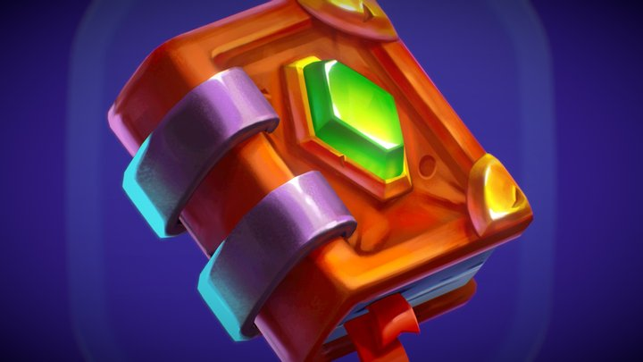 Fancy Icon Set 3D Model