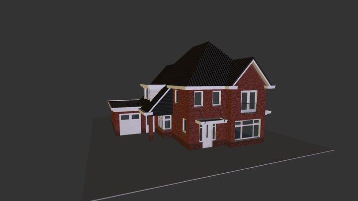 Woning Rossum 3D 3D Model