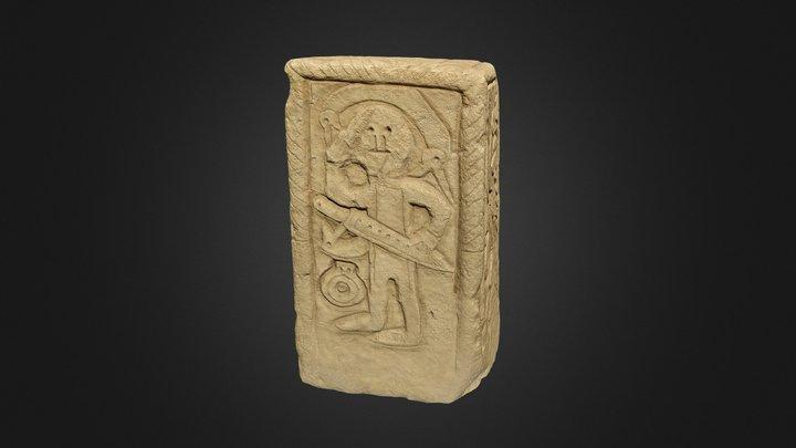 Early medieval tombstone, Niederdollendorf 3D Model