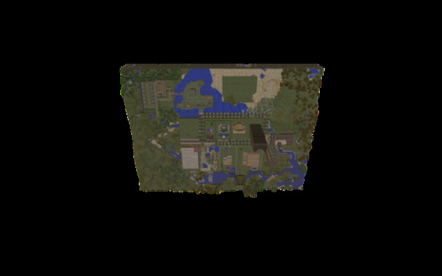 Trop city 3D Model