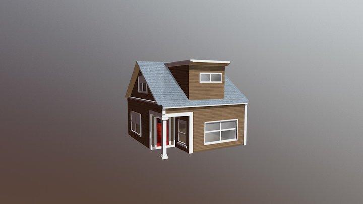 Smallhouse game asset 3D Model
