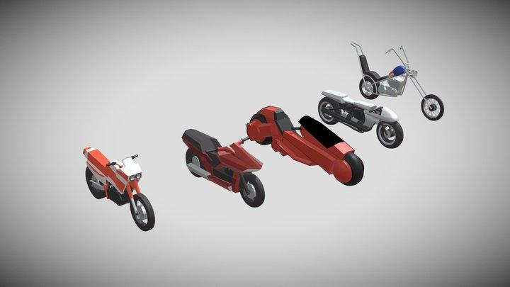 Bikes Draft practice 3D Model