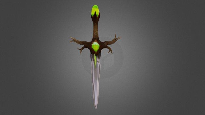 Elderwood Sword 3D Model