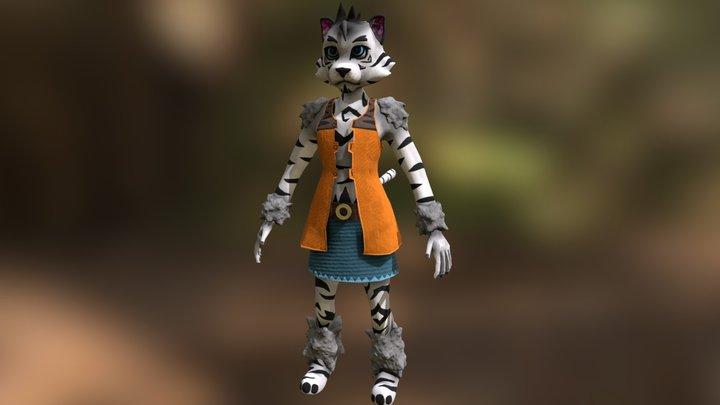 Zack 3D Model