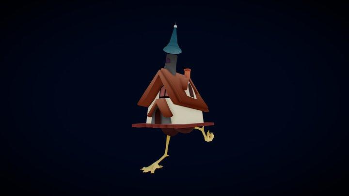 Hut of Baba Yaga 3D Model