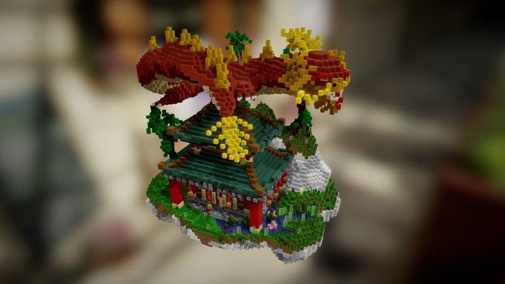 China [ND] By JlUM0H4UK 3D Model