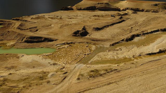 Assyrian Dam across the Bastora Valley 3D Model