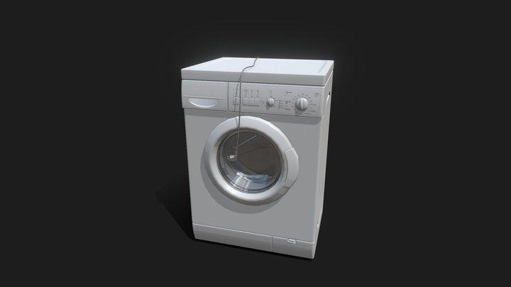 Washing Machine (new) 3D Model