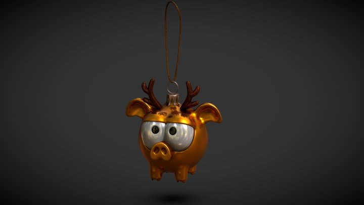 new year toy 3D Model