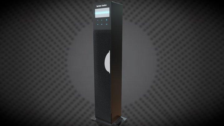 DVD player speaker 3D Model
