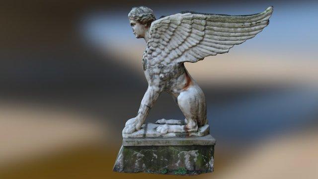 Botaniska Sphinx Lund 3D Model