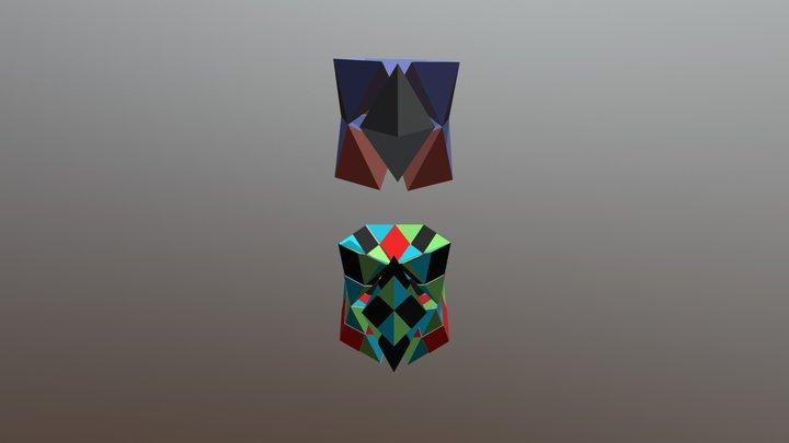 Deuterium Model 3D Model