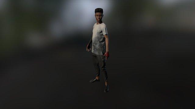 Denzel 3D Model
