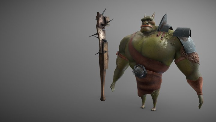 Bruzer (Cloth) 3D Model