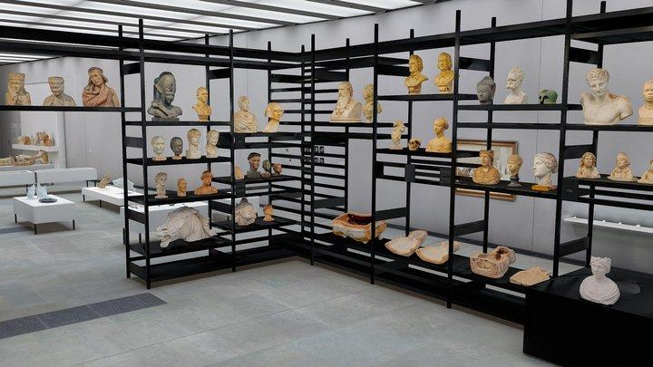 3D-Exhibition 'Near Life' 3D Model