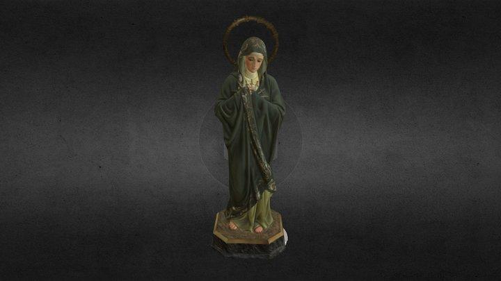 Virgen de la Esperanza (Medina del Campo) 3D Model