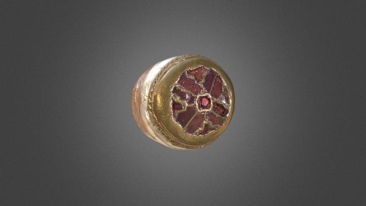 Small Brooch 3D Model