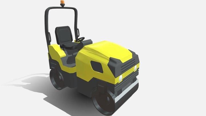 Rodillo Tandem Waker Newson 3D Model
