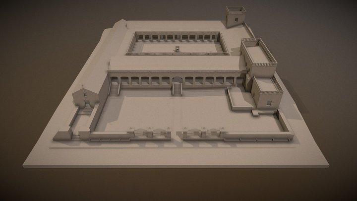 Estancia Caroya 3D Model