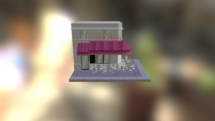 Franch Calf Hay 3D Model