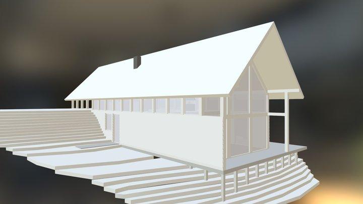 Casa Huiscapi 2 pisos 3D Model