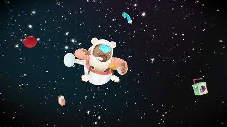 Hopeless Hurdles of a Starving Starman 3D Model