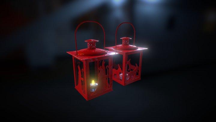 Lanterns - Saint Nicolas & Peckersel 3D Model