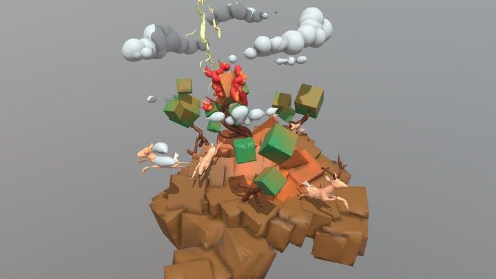 Championship: Electricity Sleep 3D Model