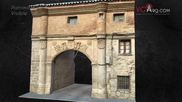 Arco Villa S.XVI Burgos 3D Model