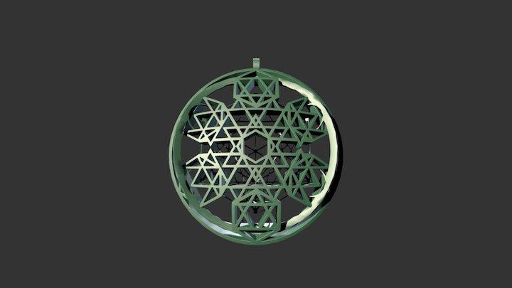 Etheric Metatron Reflector2 3D Model