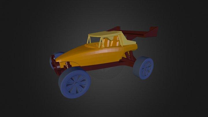 3DRacers - Buggy 3D Model