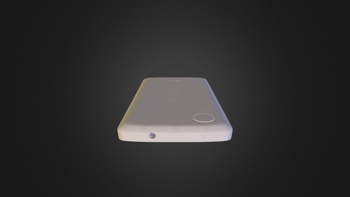L G Google Nexus 5 Obj 3D Model