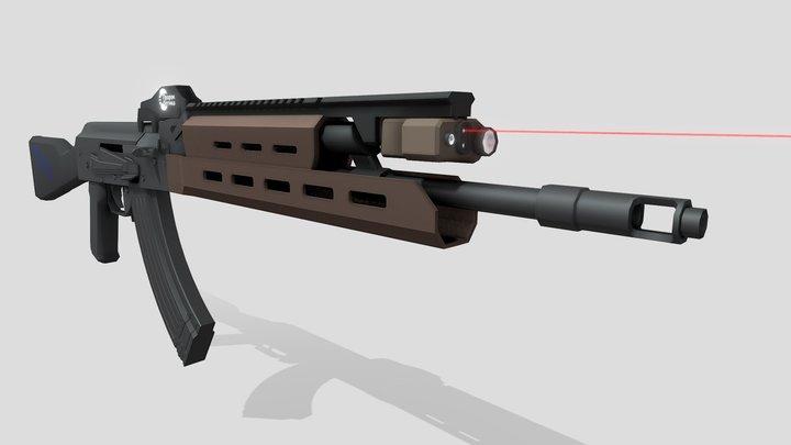 Prophet AKM 3D Model