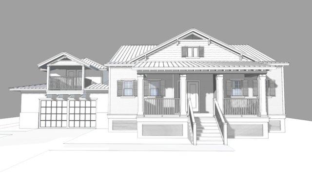 Boca Grande KB Residence 3D Model