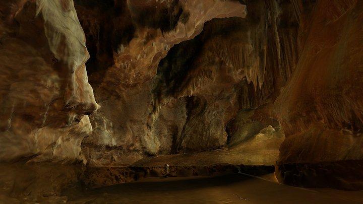 Cova de l'Orgui - Parc Natural dels Ports 3D Model