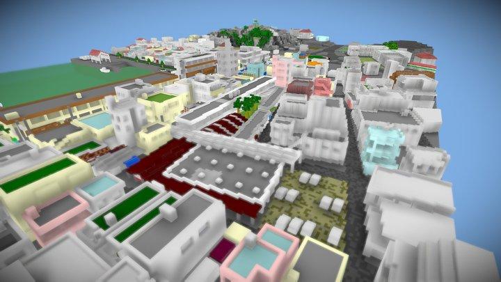 旧糸満中央市場&糸満漁港(20210609 updated) 3D Model