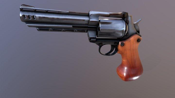 Revolver Shooting Only-test 3D Model