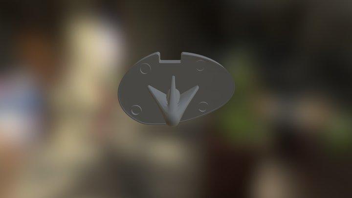 Tibia Component 3D Model