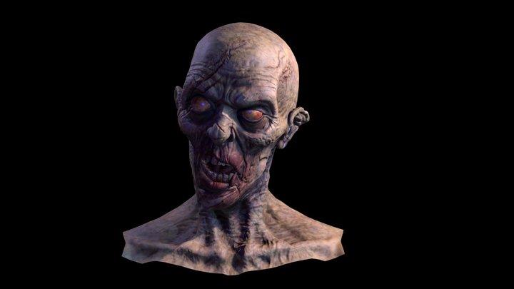 Zombi TEST- Monster 3D Model