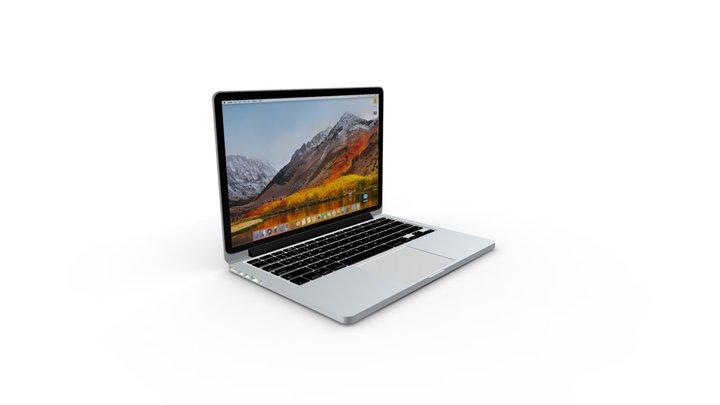 Macbook Pro Retina 13'' 3D Model