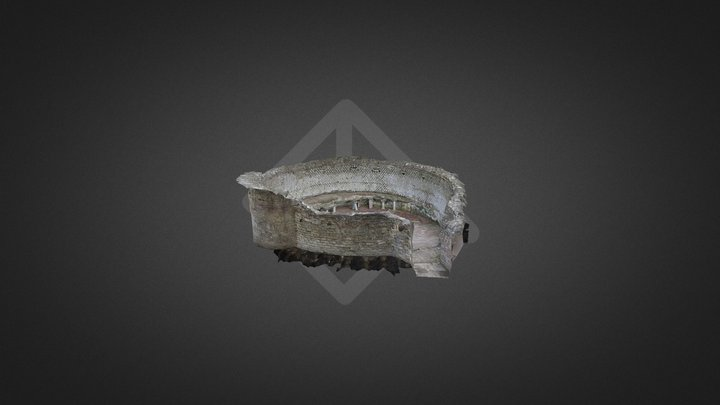 Frigidarium Terme di Via Terracina Napoli 3D Model