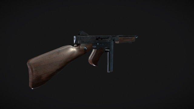 M1A1 Thompson 3D Model
