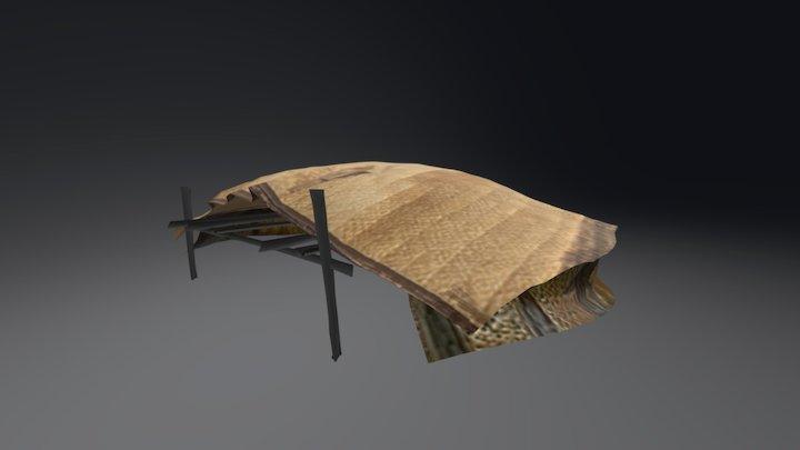 Tuareg Tent 3D Model