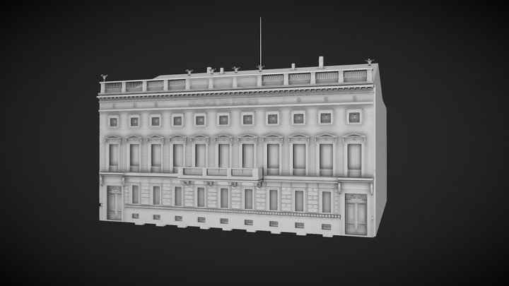 Akademie der Kuenste - Berlin 1930 3D Model