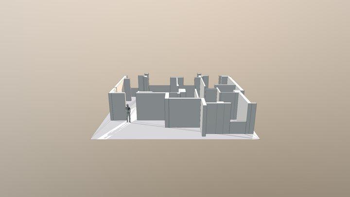 HF Sin Muro 3D Model