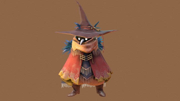 Wild Witches - Native 3D Model