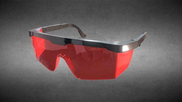Laser protection glasses 3D Model
